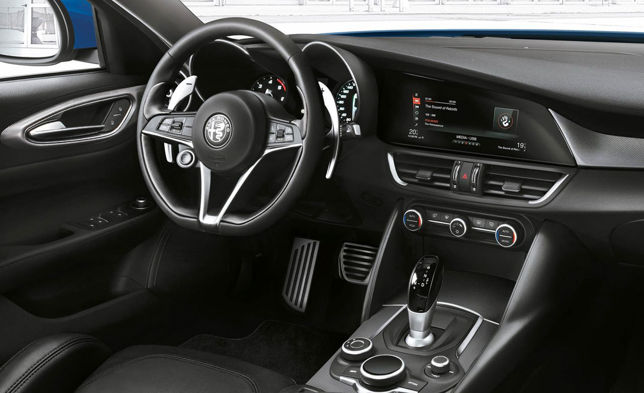 Alfa Romeo Introduces Giulia Veloce Variant News Car And Driver