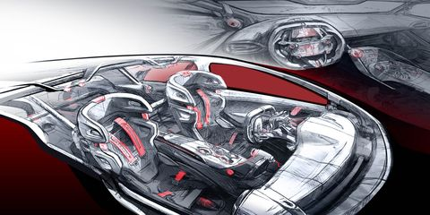 Automotive design, Illustration, Graphics, Painting, Drawing, Motorcycle accessories, Synthetic rubber, Kit car,