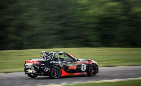 copeland motorsports mazda mx 5 miata cup car
