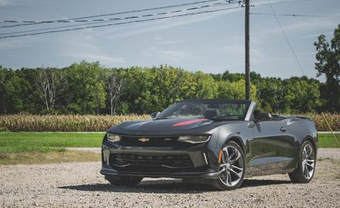 2017 Chevrolet Camaro Rs Convertible 50th Anniversary Edition