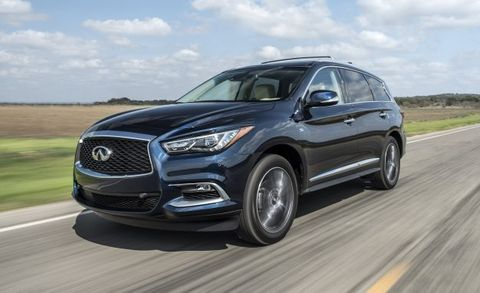 2017 Infiniti Qx60 Gains Revised V 6