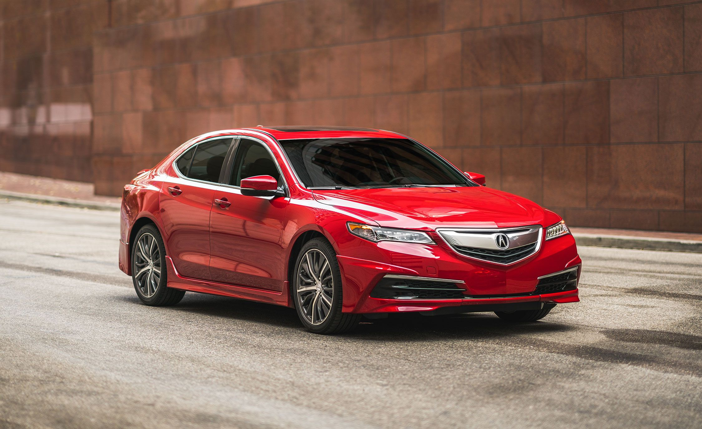 Acura S Race Inspired Tlx Gt Package Gets No Real Upgrades News Car And Driver