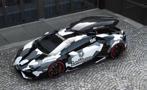 Jon Olsson's New Car Is a Camo Lamborghini Huracán – News – Car and