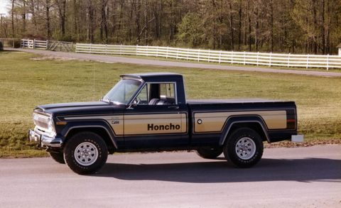 Jeep Honcho on 1977 Dodge Power Wagon Macho 1