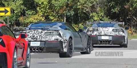 Land vehicle, Vehicle, Car, Automotive design, Performance car, Automotive exterior, Sports car, Supercar, Chevrolet corvette c6 zr1, Race car,