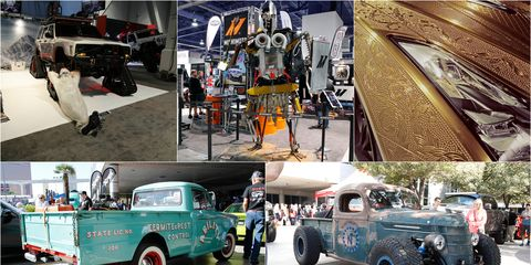 sema 2016 best of day two