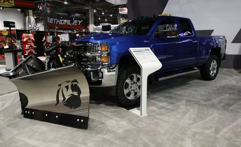 Chevrolet Silverado 2500hd Alaskan Edition Tackles The Snow News
