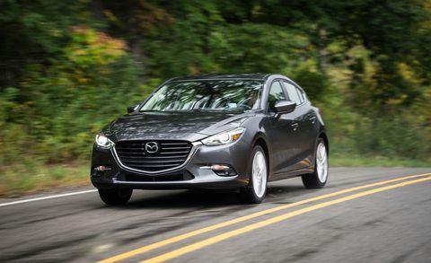 Land vehicle, Vehicle, Car, Mid-size car, Mazda, Automotive design, Mode of transport, Personal luxury car, Sedan, Mazda3,