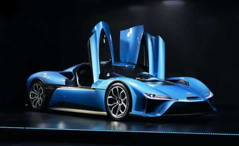 Enter The Matrix Nextev Launches Nio Ep9 A Chinese Electric Supercar