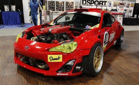 Gt4586 The Ferrari Powered Toyota 86 Drift Car News Car And Driver