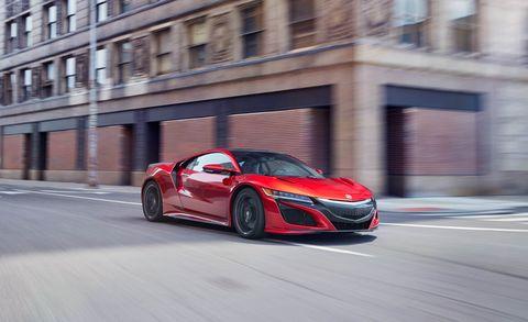 Tire, Mode of transport, Automotive design, Vehicle, Car, Red, Supercar, Automotive lighting, Automotive mirror, Rim,