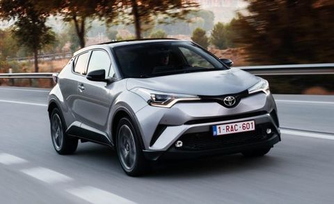 2017 Toyota C Hr Euro Spec Placement
