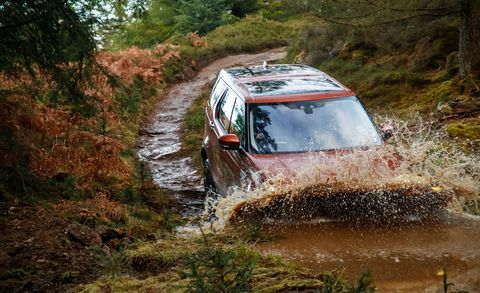Car, Off-roading, Stream, Off-road vehicle, Dirt road, Mud bogging, Off-road racing, Sport utility vehicle, Fluvial landforms of streams, Ford,
