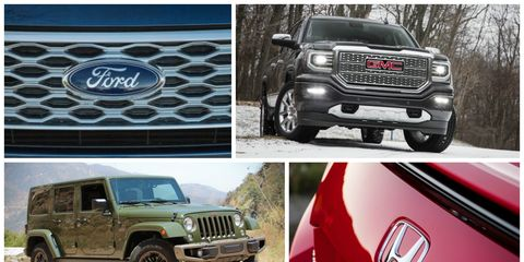 Universe Auto Sales >> Sales Tale These Are The 25 Best Selling Vehicles Of 2016