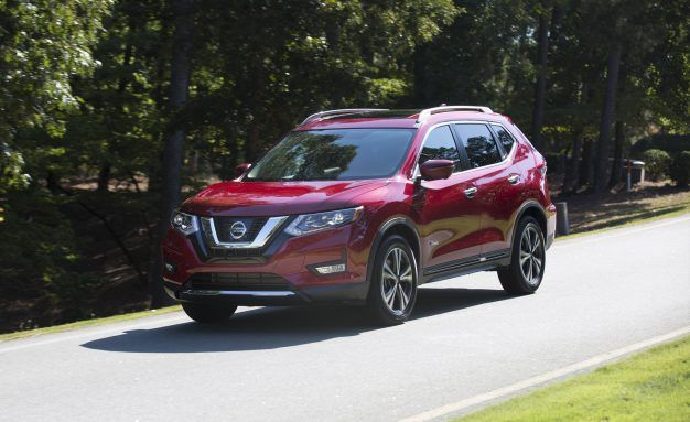 2017 nissan rogue hybrid placement