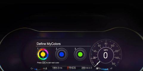 Gauge, Technology, Electric blue, Speedometer, Circle, Measuring instrument, Multimedia, Machine, Tachometer, Input device,