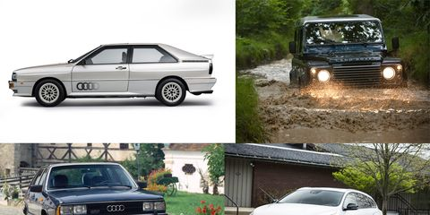 Five Alive: All the Notable Cars We Know with Five-Cylinder