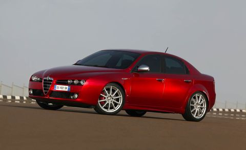 Land vehicle, Vehicle, Car, Executive car, Alfa romeo 159, Luxury vehicle, Automotive design, Mid-size car, Alfa romeo brera, Full-size car,