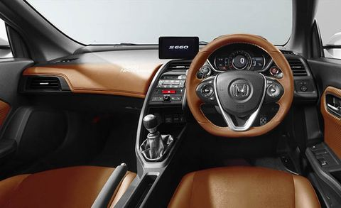 Motor vehicle, Steering part, Mode of transport, Automotive design, Product, Brown, Steering wheel, Transport, Center console, White,