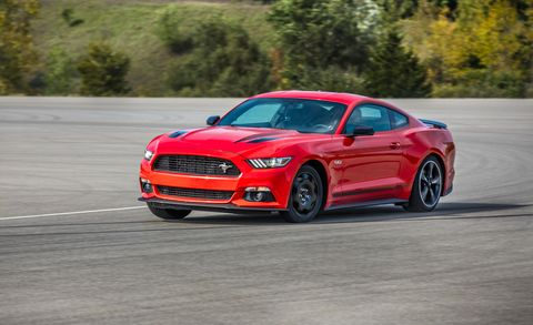how much does a donut spare tire limit performance we find out using a ford mustang