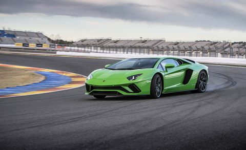 Land vehicle, Vehicle, Car, Supercar, Sports car, Automotive design, Performance car, Lamborghini, Lamborghini aventador, Sports car racing,