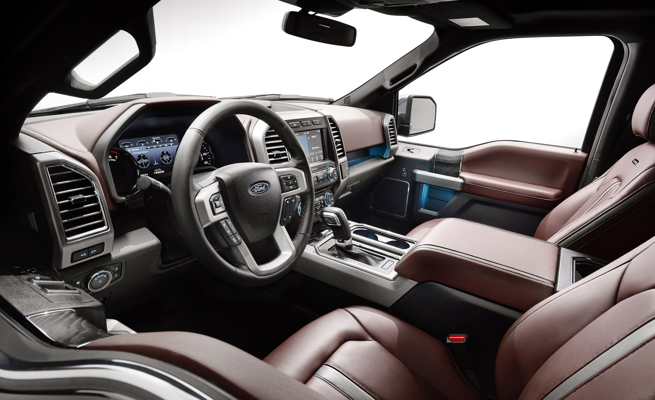 Ford F 150 Platinum Interior >> Ford F 150 2018 Vs 2017 Here S What S New On The 2018 Ford F 150
