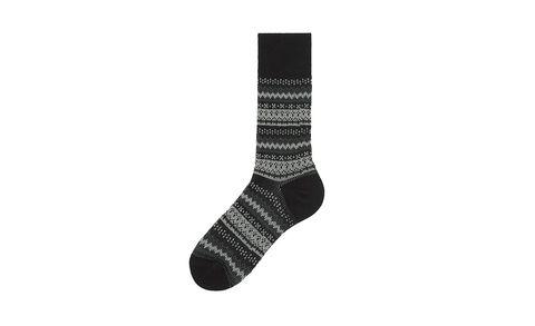 Sock, Grey, Synthetic rubber, Walking shoe,