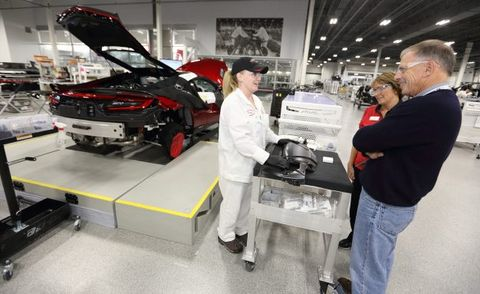 Acura NSX Buyers Can Pay Extra to Get Factory Tour, Track