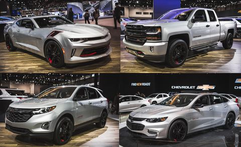 chevy redline special editions