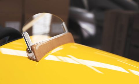 Yellow, Leather, Shoulder bag, Classic, Classic car,