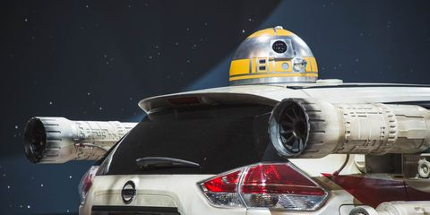 Automotive design, Automotive lighting, Space, Automotive tail & brake light, Astronomical object, Outer space, Bumper, Aerospace engineering, Spacecraft, Luxury vehicle,