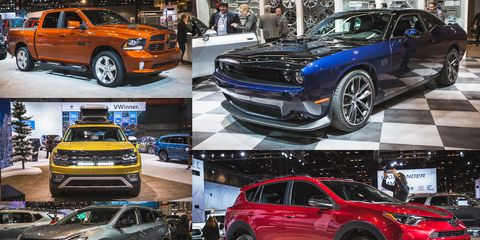 The 2017 Chicago Auto Show Is All About Trim Levels And Special Editions