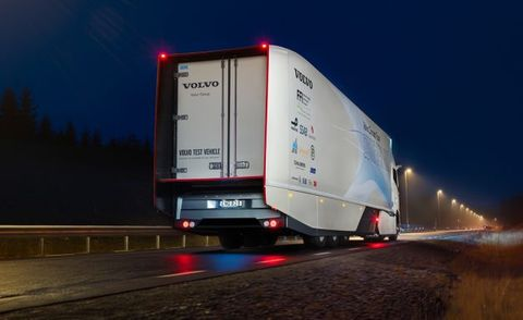 Volvo Truck Concept Points to a Future of Hybrid Big Rigs