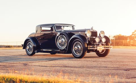 Land vehicle, Vehicle, Car, Vintage car, Classic car, Classic, Antique car, Bentley 4 litre, Coupé, Sedan,