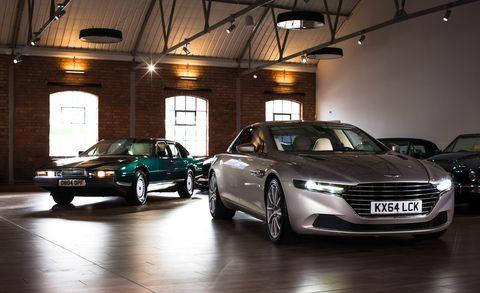 Land vehicle, Vehicle, Car, Automotive design, Luxury vehicle, Personal luxury car, Executive car, Full-size car, Aston martin lagonda, Sedan,