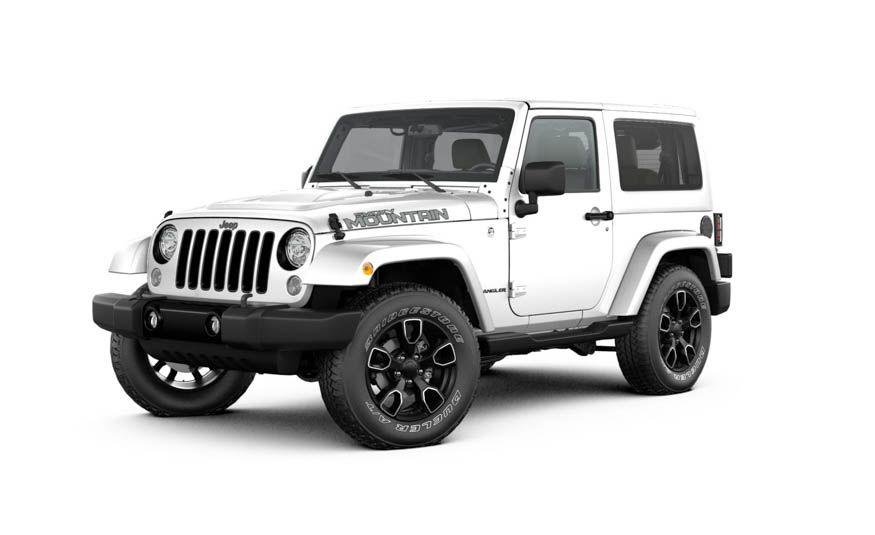jeep wrangler color history