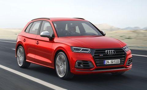 2018 Audi Q5 Placement