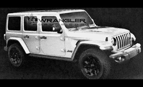 2018 Jl Jeep Wrangler Unlimited Rubicon Front