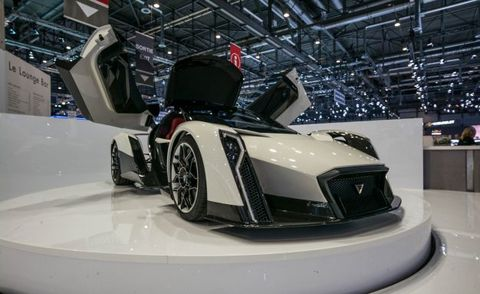 This Ev Hypercar Has 1500 Hp Insane Doors Amazingly Cool Rear Wing News Car And Driver