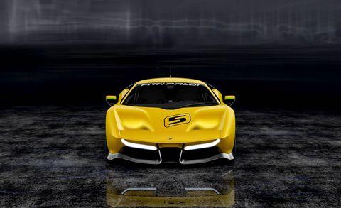 Vehicle, Automotive design, Supercar, Yellow, Car, Sports car, Performance car, Race car, Automotive exterior, Coupé,