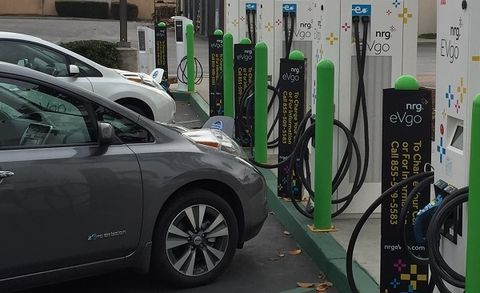 EVgo Teases Higher-Power Fast Charger on Tesla Turf | News