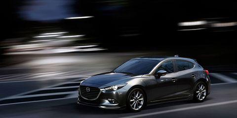 Land vehicle, Vehicle, Car, Automotive design, Mazda, Mid-size car, Hot hatch, Hatchback, Compact car, Subcompact car,