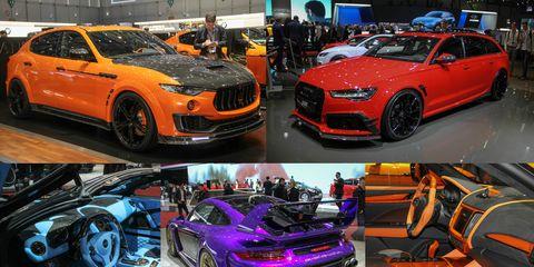 Wildest Tuner Cars of the 2017 Geneva Auto Show