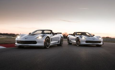 2018 Chevrolet Corvette and Z06 Receive Minor Updates and a