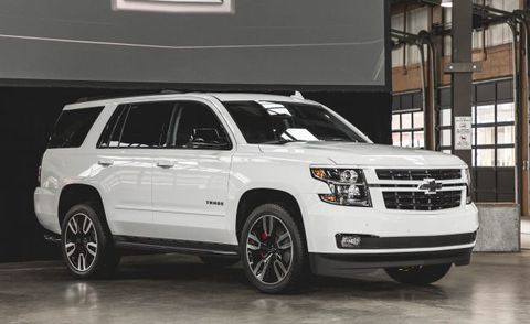 RST Special Edition Chevrolet Tahoe and Suburban Offer ...