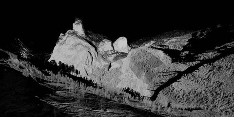Black, White, Black-and-white, Monochrome photography, Rock, Monochrome, Darkness, Sky, Night, Photography,