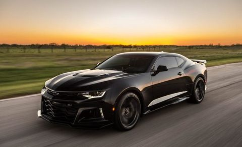 1000 Hp Hennessey Camaro Zl1 Exorcist Wants To Battle Demons