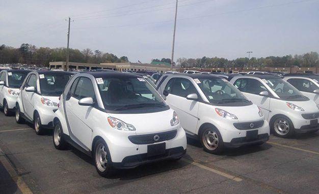20 smart cars