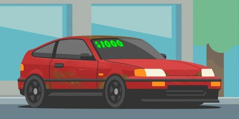 How To Get A Decent Car For 1000 Or Less