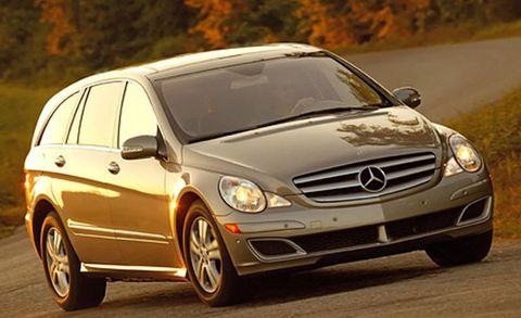 Land vehicle, Vehicle, Car, Mercedes-benz, Luxury vehicle, Mercedes-benz r-class, Personal luxury car, Spoke, Automotive tire, Tire,